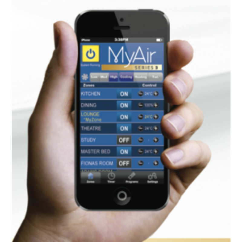 Aussie Ducted Systems - Advantage Air Myair 5 Touch Screen ...